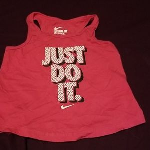 Nike tank top for toddler